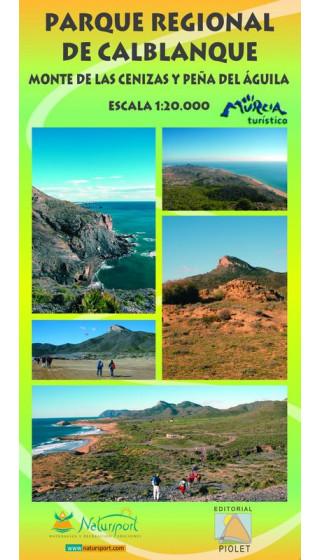 Mapa Parque Regional de Calblanque. Monte de las Cenizas y Peña del Águila 1:20.0000 1a ed