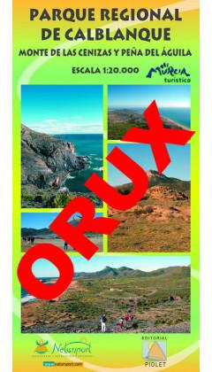 Parque Regional de Calblanque. Monte de las Cenizas y Peña del Águila. Digital OruxMaps 1:20.0000 1a ed