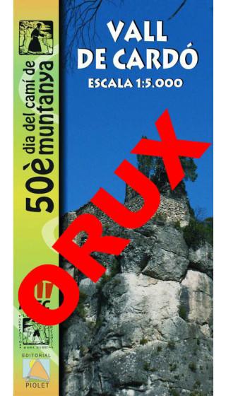 Vall de Cardó. Digital OruxMaps 1:5.000 1a ed