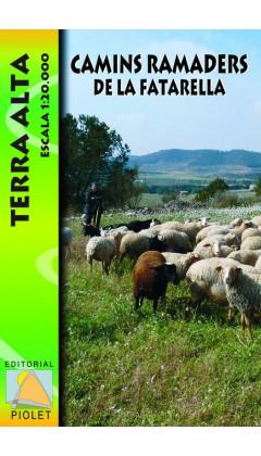 Mapa Camins ramaders de la Fatarella. Terra Alta 1:20.000 1a ed