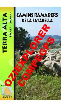 Camins ramaders de la Fatarella. Terra Alta. Digital CompeGps/Oziexplorer 1:20.000 1a ed