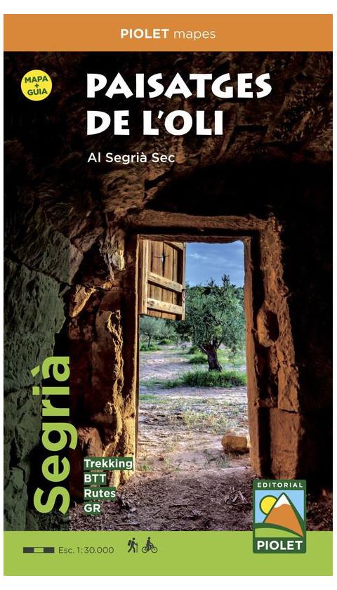 Paisatges de l'Oli al Segrià Sec. Guia + mapa 1:30.000 1a ed