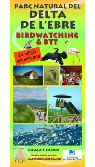 Mapa Parc Natural del Delta de l'Ebre. Birdwatching&BTT 1:30.000 2a ed