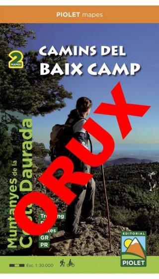 Camins del Baix Camp. Muntanyes de la Costa Daurada. Digital OruxMaps 1:30.000 1a ed