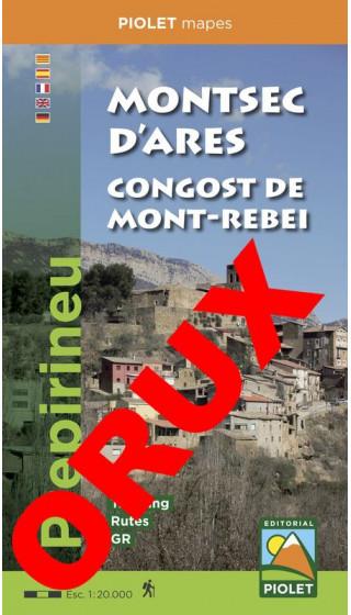 Montsec d'Ares. Congost de Mont-rebei. Prepirineu Digital OruxMaps 1:20.000 1a ed