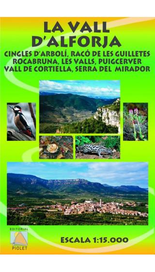 La Vall d'Alforja. Cingles d'Arbolí, Racó de les Guilletes ... 1:15.000 1a ed