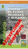 Parque Natural Sierras de Tejeda, Almijara yAlhama (Este, Oeste).  Digital CompeGps/Oziexplorer 1:25.000 1a ed