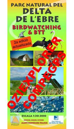 Parc Natural del Delta de l'Ebre. Birdwatching&BTT. Digital CompeGps/Oziexplorer 1:30.000 2a ed