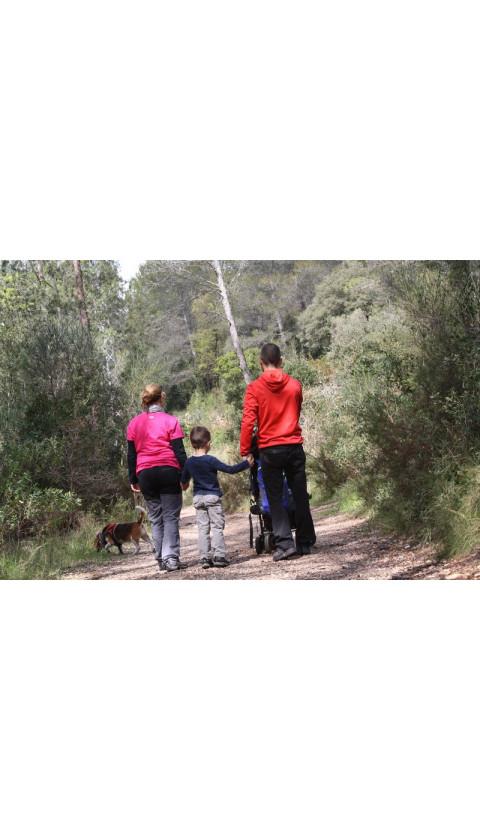 Muntanyes de Prades. 12 Excursions per a cames petites i en cotxet. Col·lecció Excursions en Familia. Ivan Belarre. 1a ed. 2017