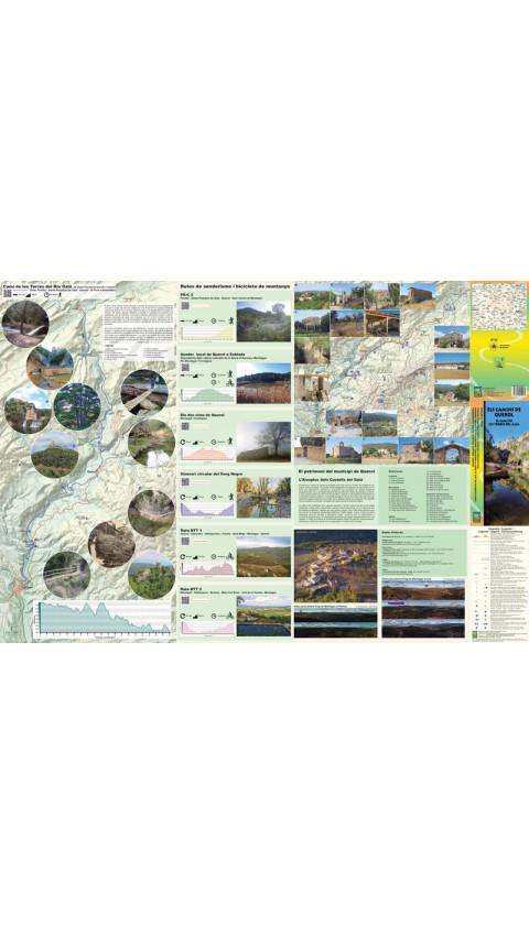 Mapa Els Camins de Querol. El Camí de les Terres dels Gaia (Tram Pontils-Pont d'Armentera) 1:20.000 1a ed abril 2017