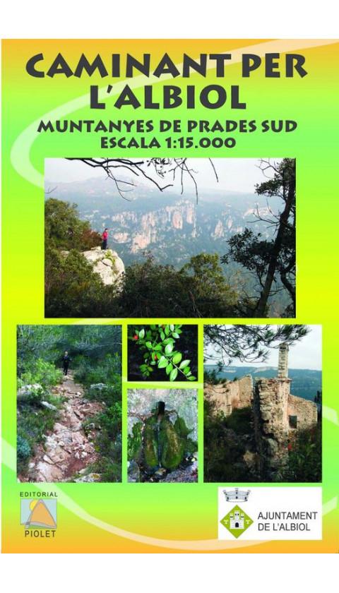 Caminant per l'Albiol. Muntanyes de Prades Sud 1:15.000 1a ed
