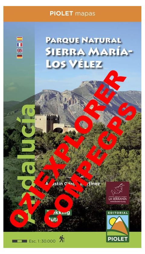 Parque Natural Sierra María - Los Vélez. Digital CompeGps/Oziexplorer 1:30.000 1a ed
