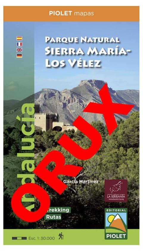 Parque Natural Sierra María - Los Vélez. Digital OruxMaps 1:30.000 1a ed