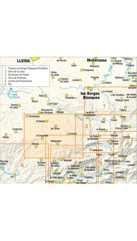 Paisatges de l'oli a les Garrigues Altes. Formato digital (Kmz/Jnx, Garmin, Google Earth)  Guia + mapa 1:20.000 1a ed