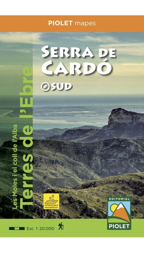 Serra de Cardó. Digital Kmz/Jnx 1:20.000 1a ed