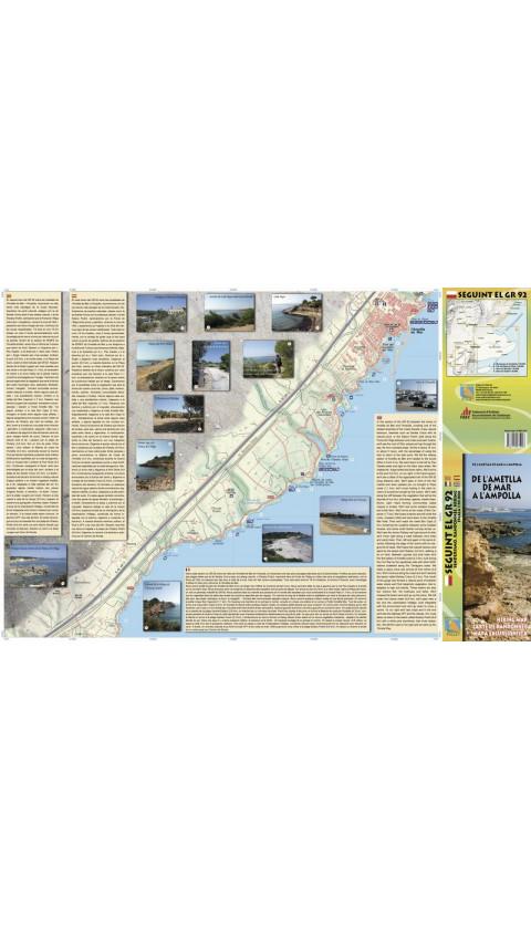 De l'Ametlla de Mar a l'Ampolla. Seguint el GR-92. Digital CompeGps/Oizexplorer 1:10.000 1a ed