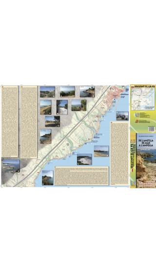 De l'Ametlla de Mar a l'Ampolla. Seguint el GR-92. Digital Kmz/Jnx 1:10.000 1a ed