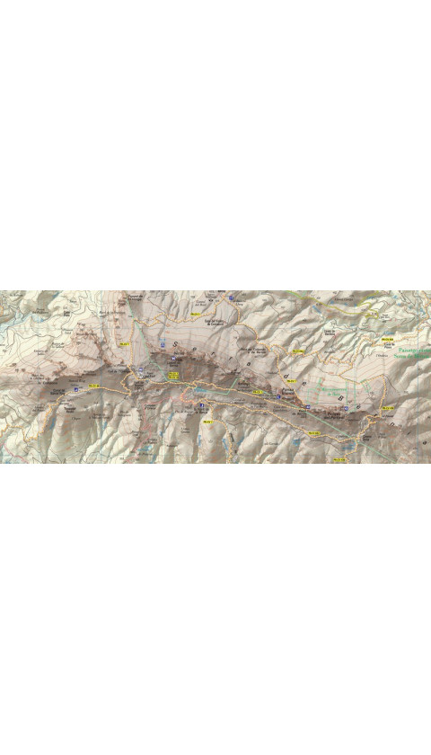 Serra de Bèrnia. Marina Alta. Digital Ozi/Compe 1:20.000 3a ed