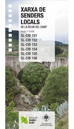 Selva del Camp, Xarxa de Senders Locals 1:12.000 1a ed