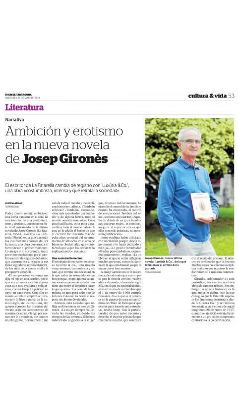 Luxúria & Co. Josep Gironès. 1a ed 2019