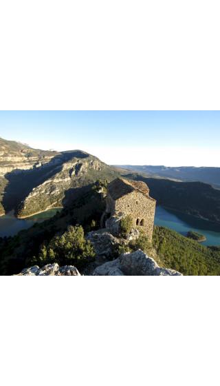 Montsec de l'Estall - Congost de Mont-rebei. Digital CompeGps/Oziexplorer 1/20.000, 1/15.000 1a ed 2019