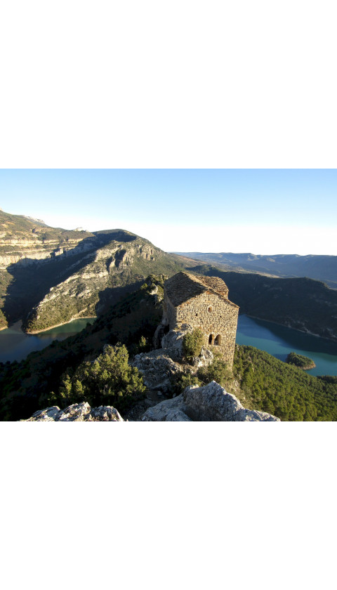 Montsec de l'Estall - Congost de Mont-rebei. Digital Kmz  (Google Earth/Garmin) 1/20.000, 1/15.000 1a ed 2019
