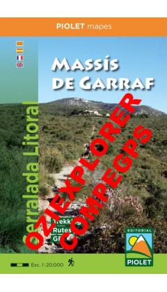 Massís de Garraf. Serralada Litoral. Digital CompeGps/Oziexplorer  1/20.000 2aed 2019