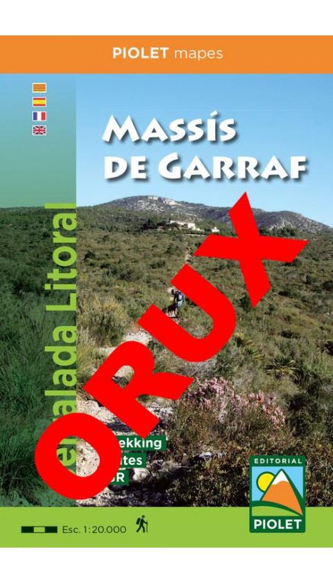 Massís de Garraf. Serralada Litoral. Digital OruxMaps  1/20.000 2aed 2019