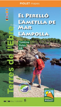 Mapa El Perelló, L'Ametlla de Mar, L'Ampolla 1:20,000 1a ed 2019
