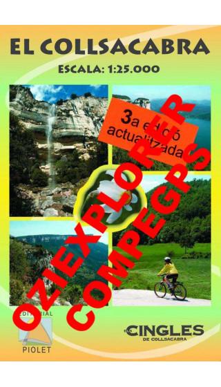 El Collsacabra. Digital CompeGps/Oziexplorer 1:25.000 3a ed