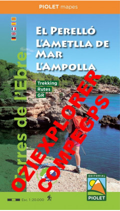 El Perelló, L'Ametlla de Mar, L'Ampolla. Digital CompeGps/Oziexplorer 1:20,000 1a ed 2019
