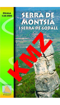 Serra de Montsià. Digital Kmz (Garmin, Google Earht) 1:20.000 1a ed
