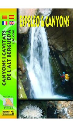 Espeleo&Canyons. Canyons i cavitats de l'Alt Berguedà 1:50.000 1a ed