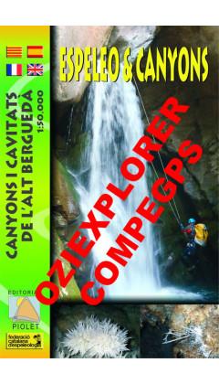 Espeleo&Canyons. Canyons i cavitats de l'Alt Berguedà. Digital CompeGps/Oziexplorer 1:50.000 1a ed