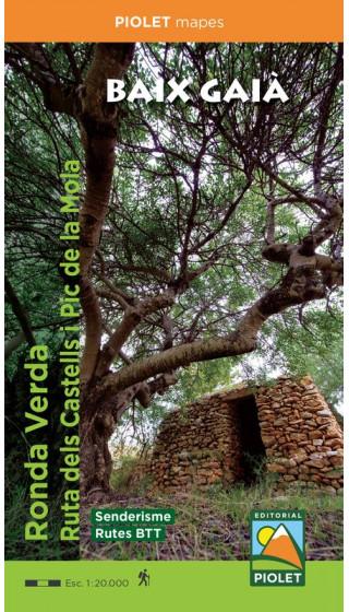 Mapa Baix Gaià. Ruta dels Castells i...