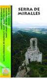 Mapa Serra de Miralles. Castell de Queralt. Sta. Coloma de Queralt. St. Martí de Tous. Sant Magí de Brufaganya 1:20.000 1a ed