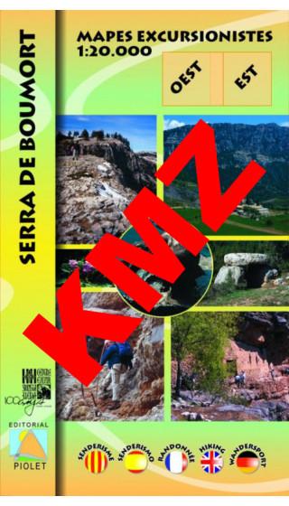 Serra de Boumort. Oest-Est 1:20.000...