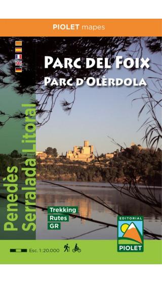 Mapa Parc del Foix Parc d'Olèrdola....
