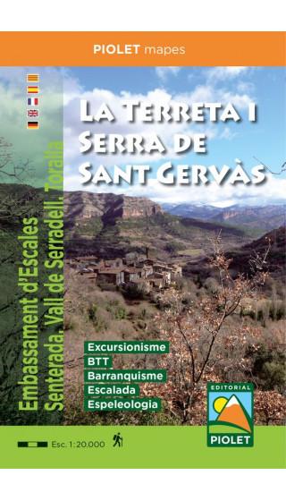 Mapa La Terreta i Serra de Sant...