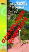 Muntanyes d'Ordal. Digital CompeGps/Oziexplorer 1:20.000 1a ed