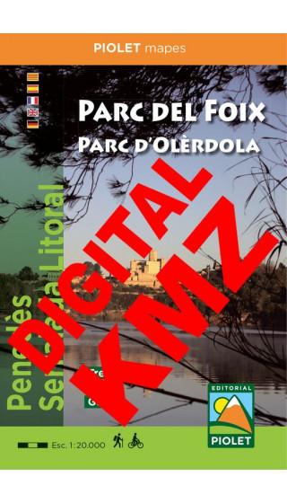 Parc del Foix Parc d'Olèrdola Map....